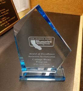 San Joaquin Valley Blueprint Planning Process Award