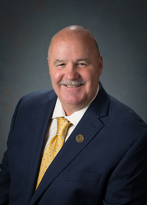 An image of Councilmember Drew Bessinger