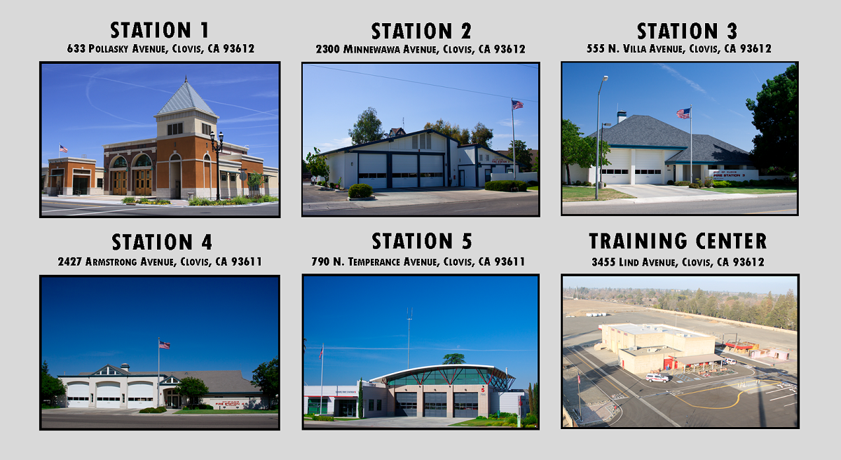 An images of the Clovis fire stations
