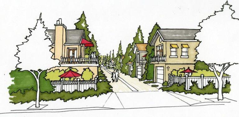 An image of a neighborhood plan