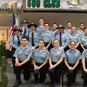 Clovis Police Honored Explorer Post 355 at Annual Banquet