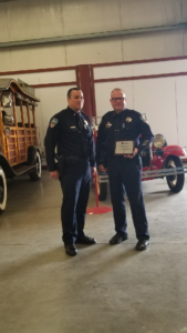 Clovis Police Officer Mark Bradford Earns State MADD Award