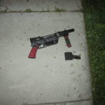 Recovered illegal firearm