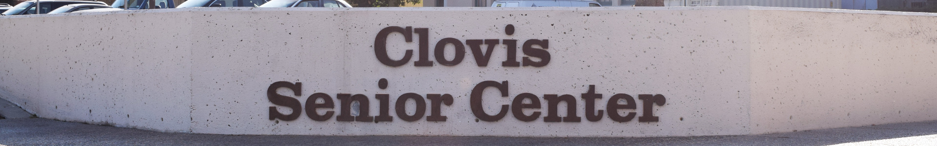 A picture of the Clovis Senior Center logo.
