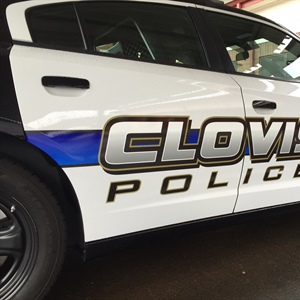 Clovis Police Department Unveils New Patrol Vehicle Design