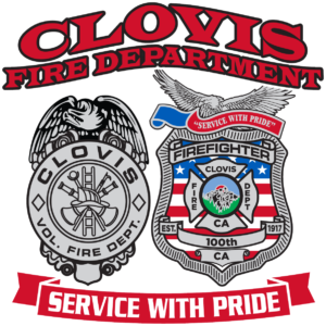 An image of Fire department badges