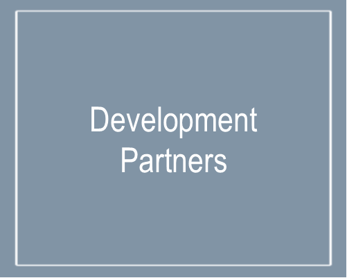Text that says Development Partners
