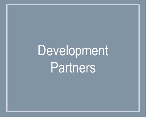 Text that says Development Partners