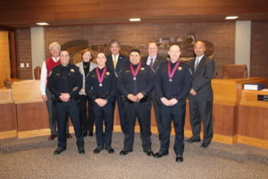 Three Clovis Police Officers Honored by City Council