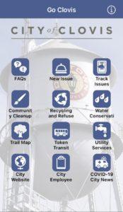 Image of the Go Clovis app