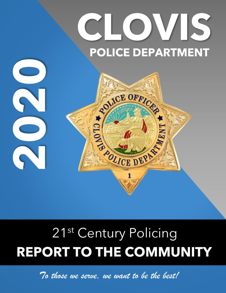 Clovis Police Badge Icon and 2020 text