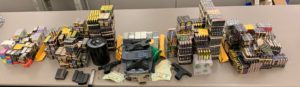 Photo of Recovered stolen property and evidence