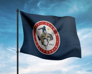 City of Clovis flag