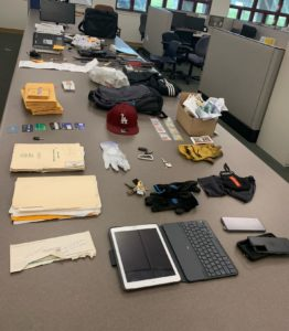 Photo of recovered stolen property