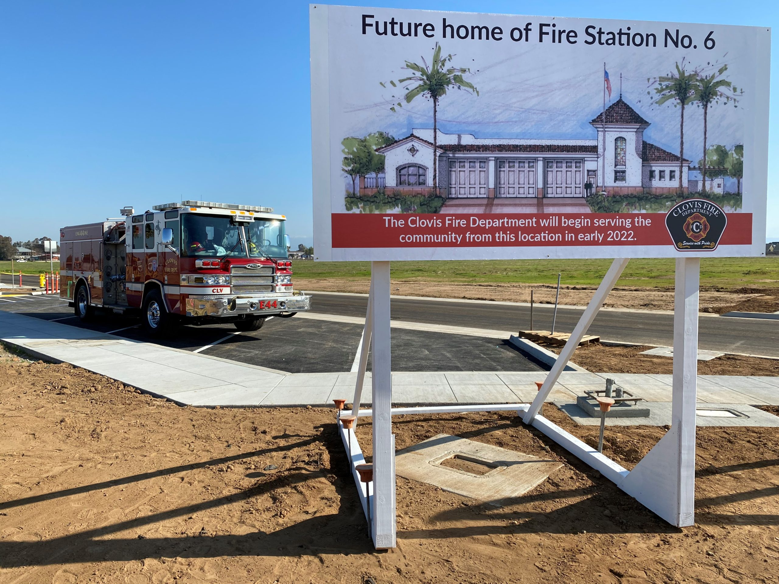 Fire Station 6 Groundbreaking Ceremony