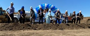Groundbreaking Ceremony at Butterfly Gardens
