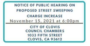 Notice of meeting, November 15, 2021 at 6pm