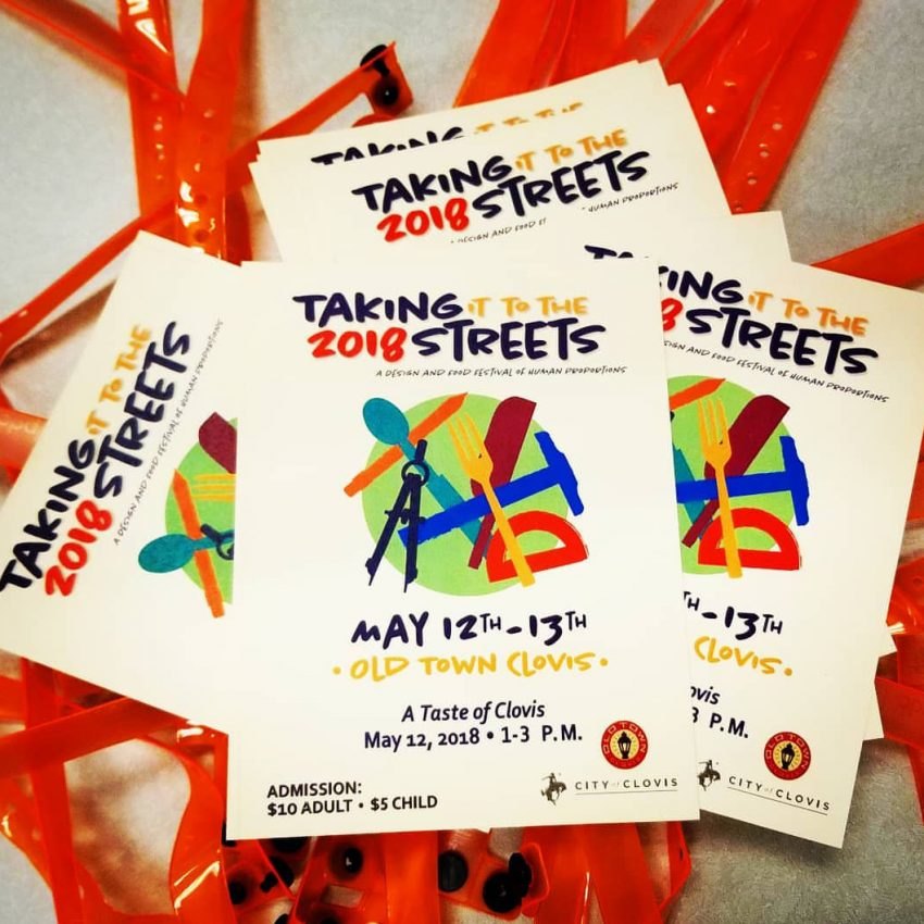 An image of Taking It To The Streets flyers